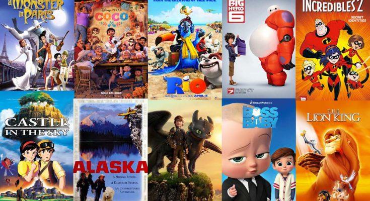 Top Ten movies for Children